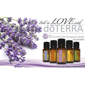 DOTERRA, Aceites esenciales puros para uso tópico, aromático e interno
