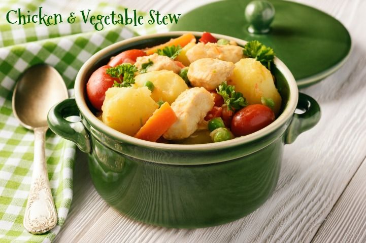 One Pot Chicken and Vegetable Stew - When is Dinner