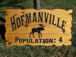 Custom Cabin Signs - Carved Wood Signs - Personalized Wood Signs
