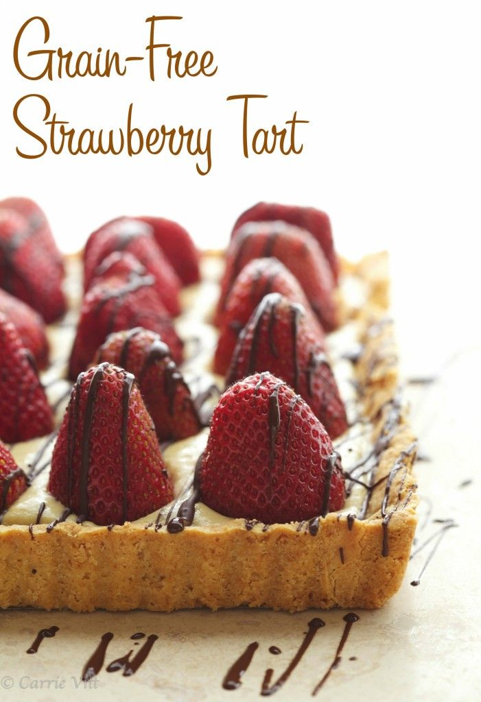 Strawberry Tart - Grain-Free, Gluten-Free, Paleo