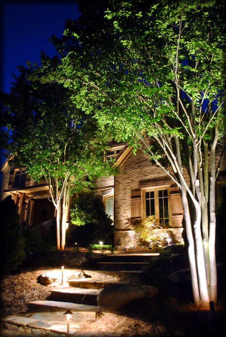 wilmington residential nc landscape led outdoor upgrade lights lighting