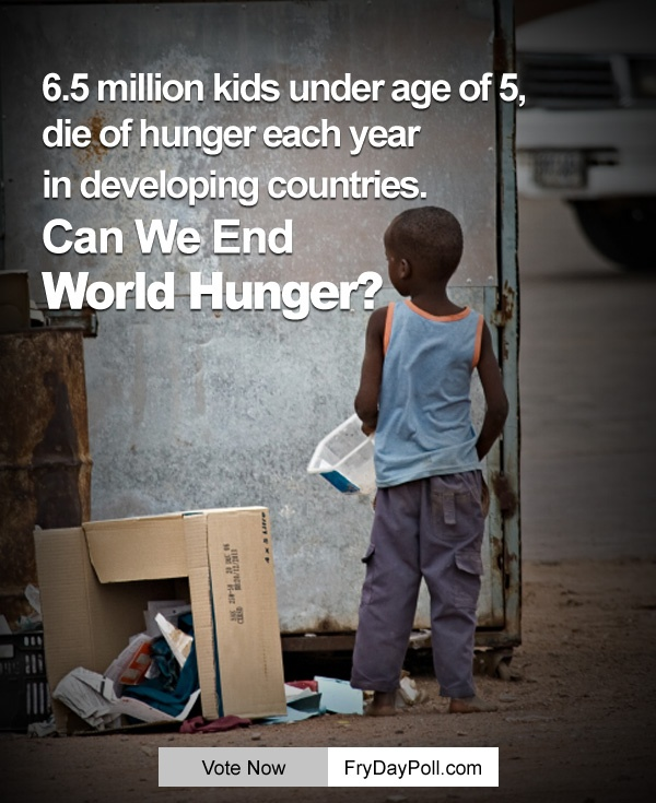 Plane #TruthIs 6.5 Million kids under age of 5 die of hunger each yr in developing countries. #WorldHunger Do ur bit - http://on.fb.me/MiPBXm
