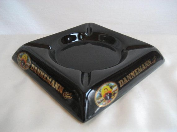Vintage ashtray Dannemann el noble cigarro