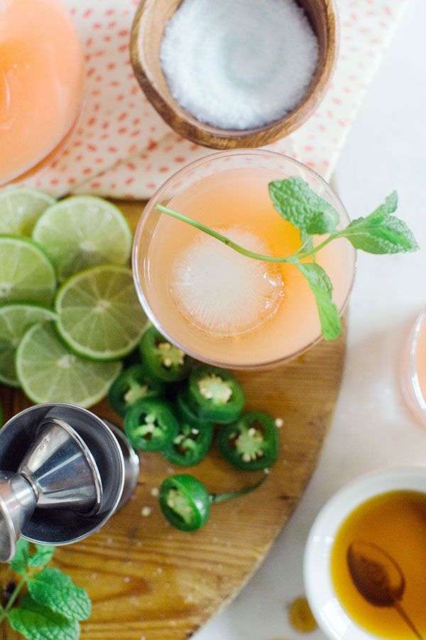 The Paloma: Tequila, Grapefruit, Lime