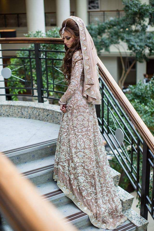 This Anarkali is made in gorgette fabric having Aari embroidery on it.