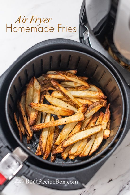 Quick Homemade Air Fryer Crispy French Fries Recipe