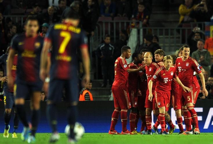 FCB - Bayern München 0 - 7