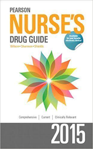 Pearson Nurse's Drug Guide 2015 1st Edition PDF Visit (MedBooksPDF) NOW #telegram https://t.me/freemedicalbooks