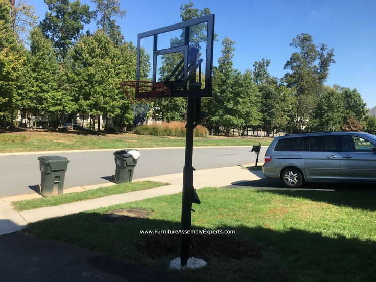 In Ground Basketball hoop installation. Call 240-764-6143 to get in ground basketball hoop installation in Washington DC, Maryland and Virginia by professionals. check out this lifetime in ground portable basketball hoop installed for a customer in ashburn Virginia by Furniture Assembly Experts company
