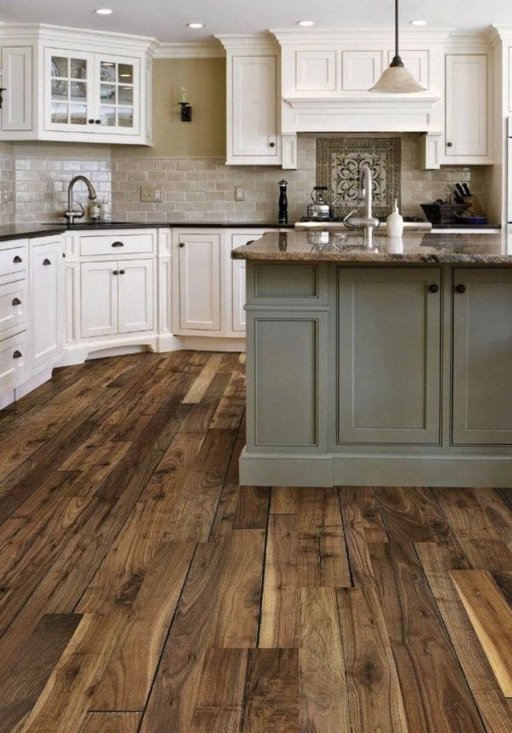 Wood Floor Color And Kitchen Cabinet Colors