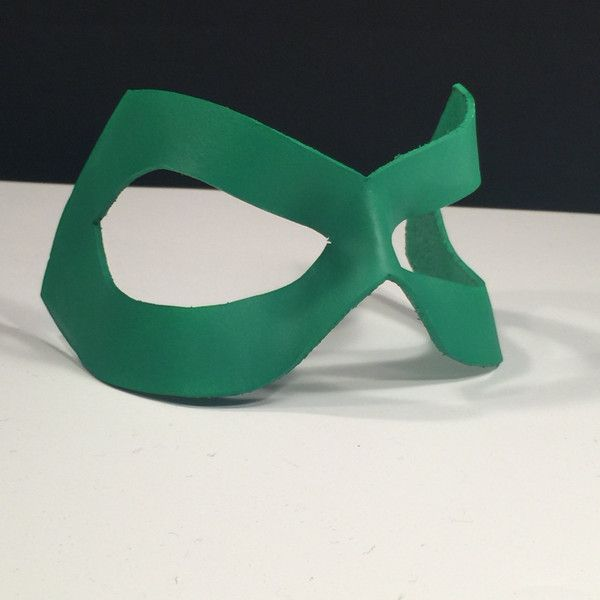 Green Lantern Mask Kelly Matte Superhero mask Poison Ivy Cosplay... ($24) ❤ liked on Polyvore featuring costumes, poison ivy cosplay costume, superhero costumes, cosplay halloween costumes, super hero halloween costumes and poison ivy costume