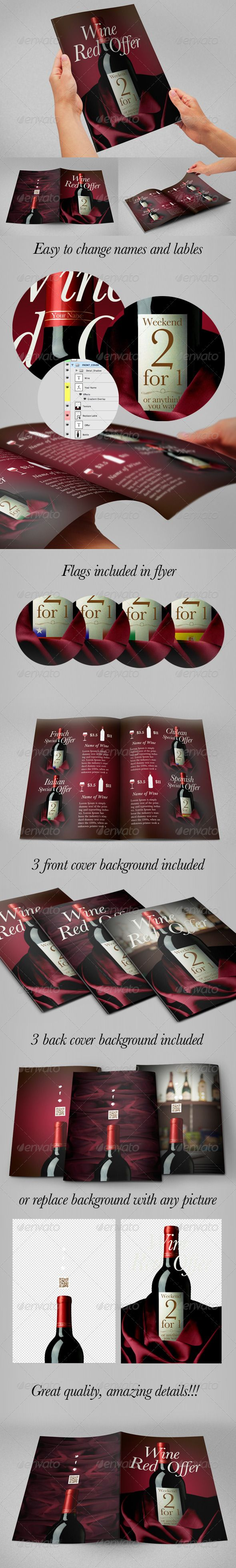 best images about print restaurant psd flyer wine flyer special offer flyer