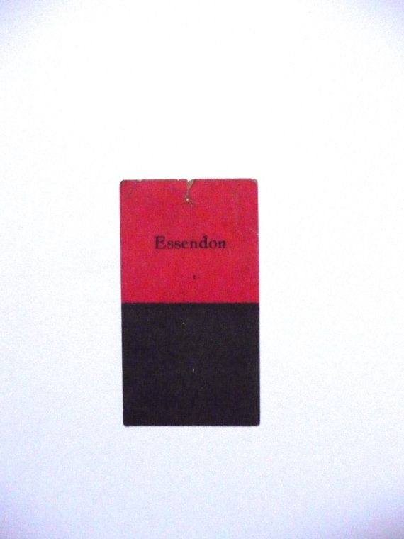 Essendon Australian Giant Brand Licorice Football Colours