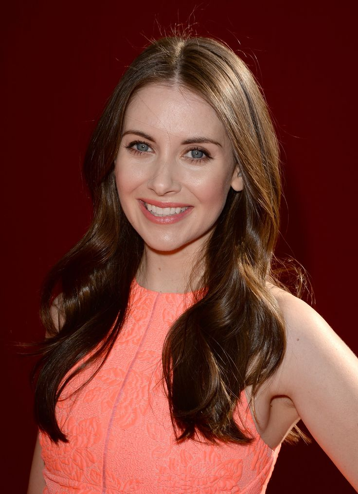 Alison-brie-shiny-hair