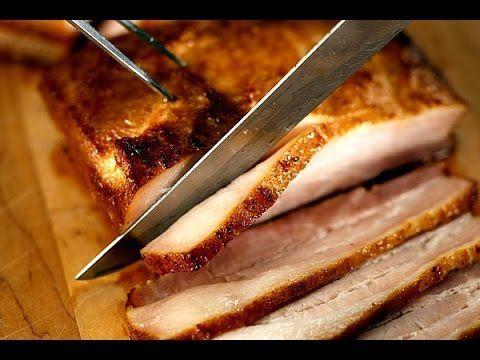 Сало в духовке - YouTube