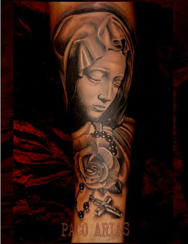 the pieta tattoo paco arias tattoo pinterest tattoo tatto and tatoo. Black Bedroom Furniture Sets. Home Design Ideas