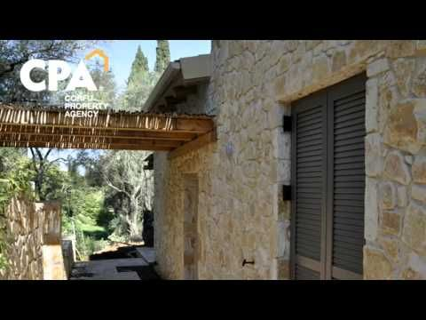 Impressive stone villa for sale with private pool, in Avlaki, North Corfu-CPA 3669 From: cpacorfu.com/en/properties/3669