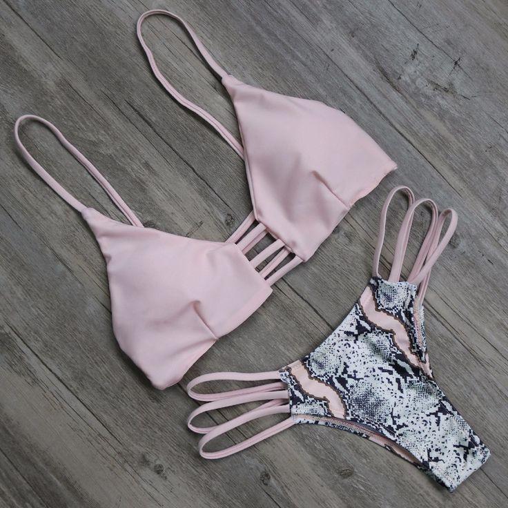 Push Up Brazilian Bikini Bathing Suit #bikini #swimsuits #swimwear
