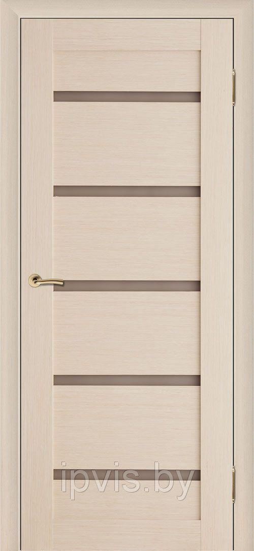Двери межкомнатные Вега 7 беленый дуб (Вилейка) в г. Гомель. Отзывы. Цена. Купить. Фото. Характеристики.