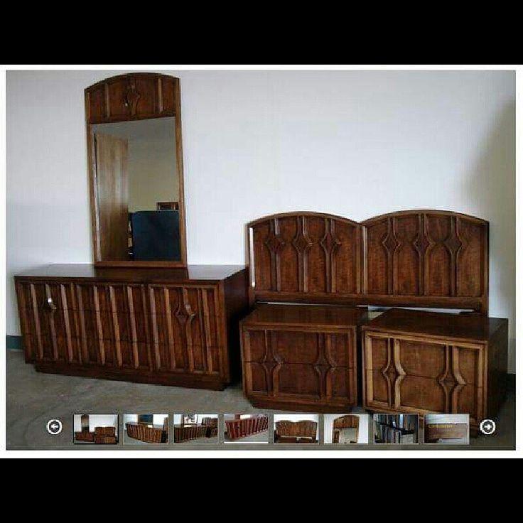 Best Mid Century Modern Bedroom Set Furniture For Sale Item 400 x 300