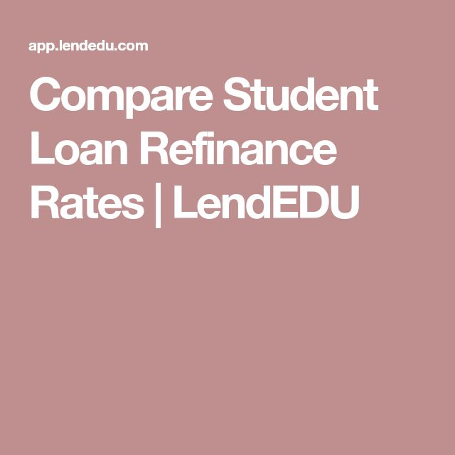 Compare Student Loan Refinance Rates | LendEDU