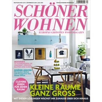 SCHÖNER WOHNEN Heft 7 / 2012