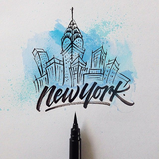 New York By David Milan Mais