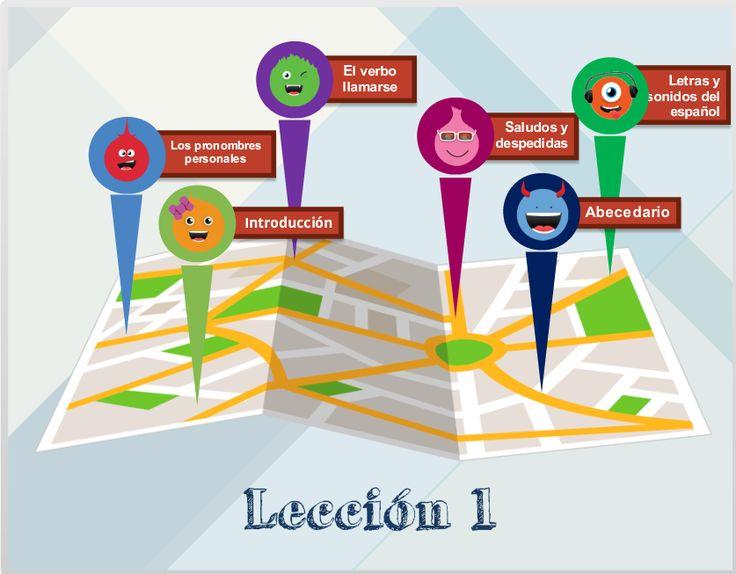#Online #Spaans leren, nu ook een virtuele leeromgeving voor kinderen en tieners! Meer info: http://www.espaans.nl/online-spaans-leren