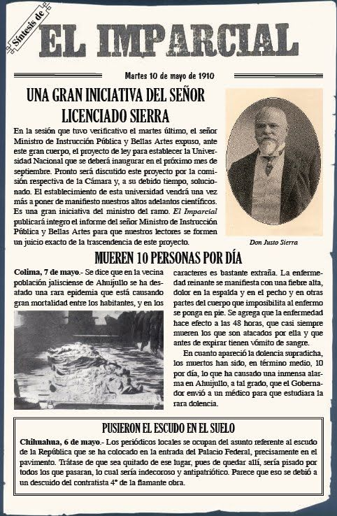 """1918  """"El Imparcial"""" newspaper is founded."""