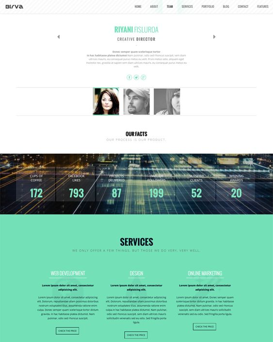 8 best 8 more of the best one page drupal themes images on for Drupal 404 template