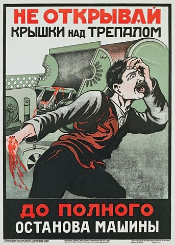 Look Out! Soviet Bloody Posters! | English Russia | Page 6