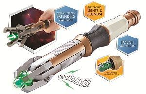 Official Doctor Who 12th Doctor Sonic Screwdriver.