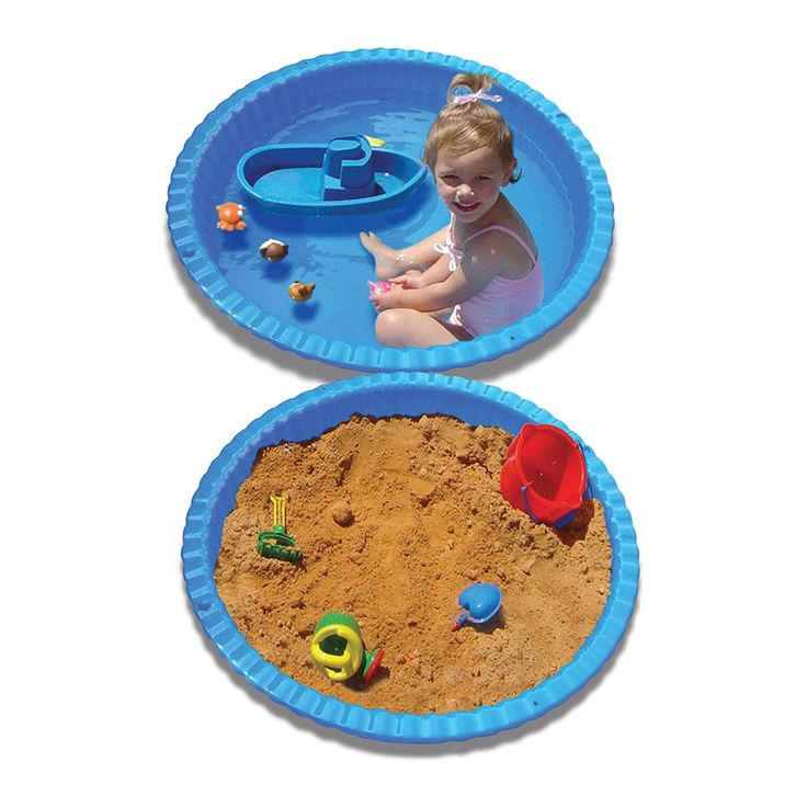 Stats Clam Shell Pool & Sand Pit - Blue | Toys R Us Babies R Us