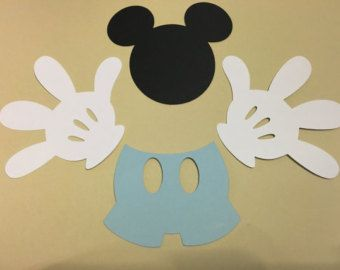 Mickey Mouse baby shower decorations Baby por RaisinsPartySupplies