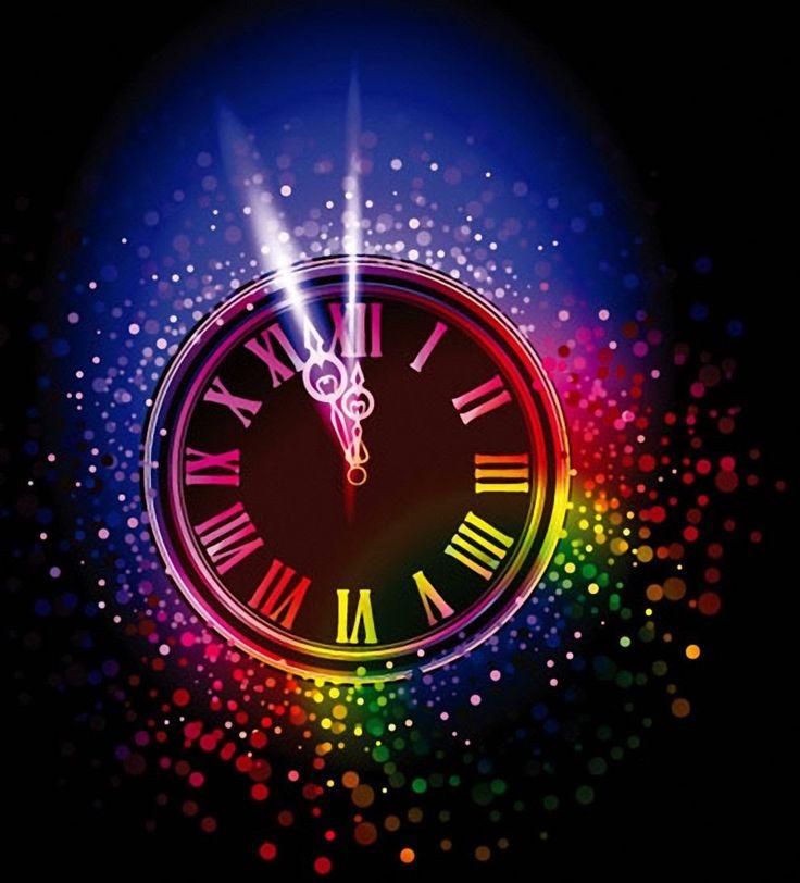 картинки часы новогодние анимация чувство что