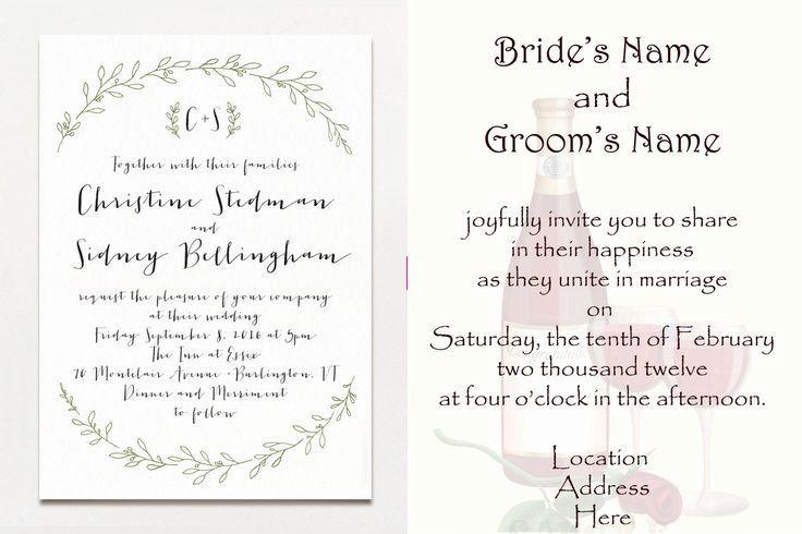 Blended Family Wedding Invitation Wording Best Of 22 Best Wedding Wordings Images On Pinter In 2020 Wedding Invitation Etiquette Wedding Wording Blended Family Wedding