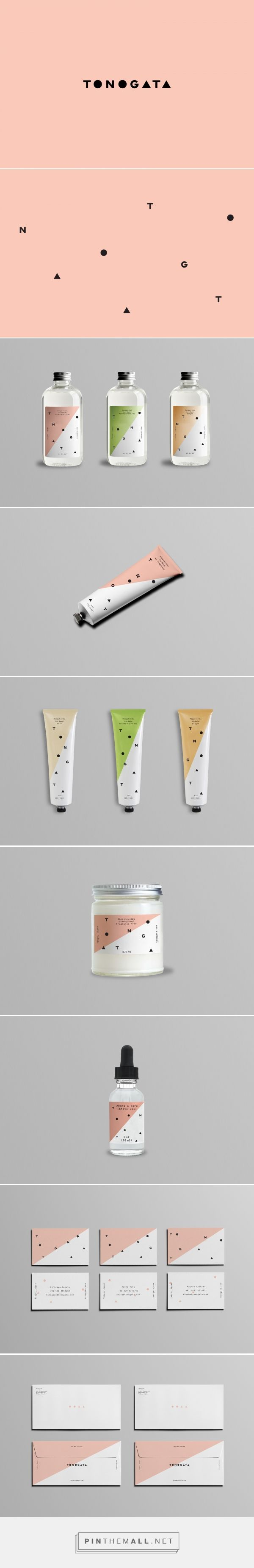 jake trahan — Tonogata packaging curated by Packaging Diva PD. Japanese grooming line offering a simple solution to the small world of men's care products. Love the design.
