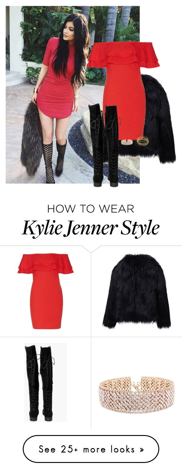 """""""Без названия #271"""" by dubaileila on Polyvore featuring Jimmy Choo, WithChic, Boohoo and Dominique Modiano"""