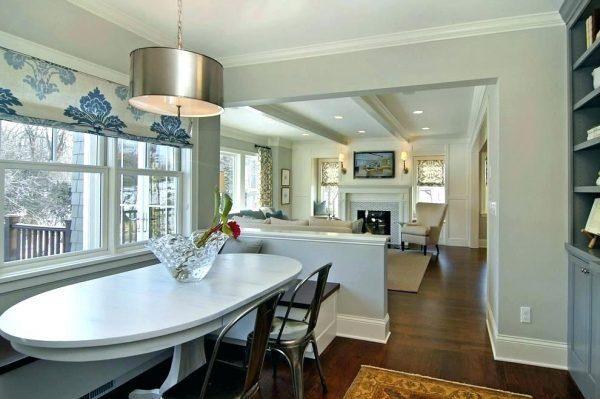 Creative Half Wall Room Divider Designs Half Wall Room Divider Dining Room Windows Window Seat Design