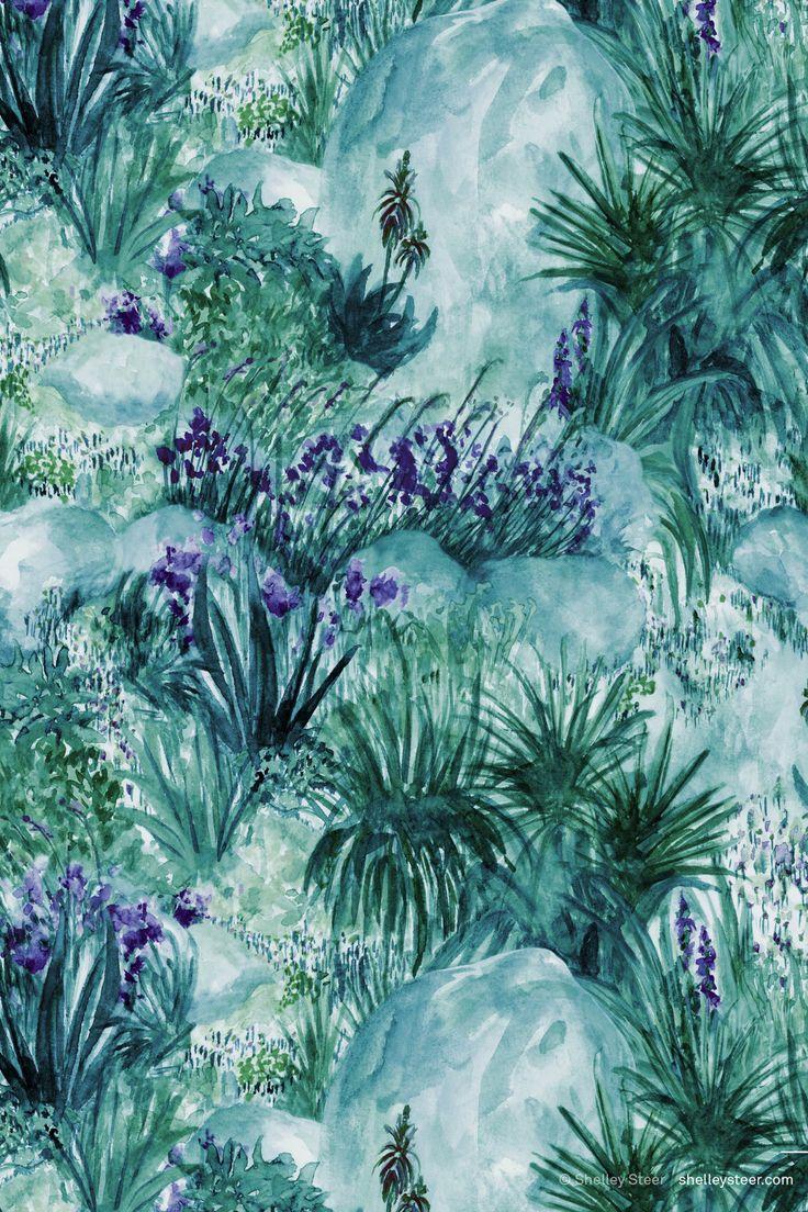 NOV | Painterly | Colourway 2© Shelley Steer