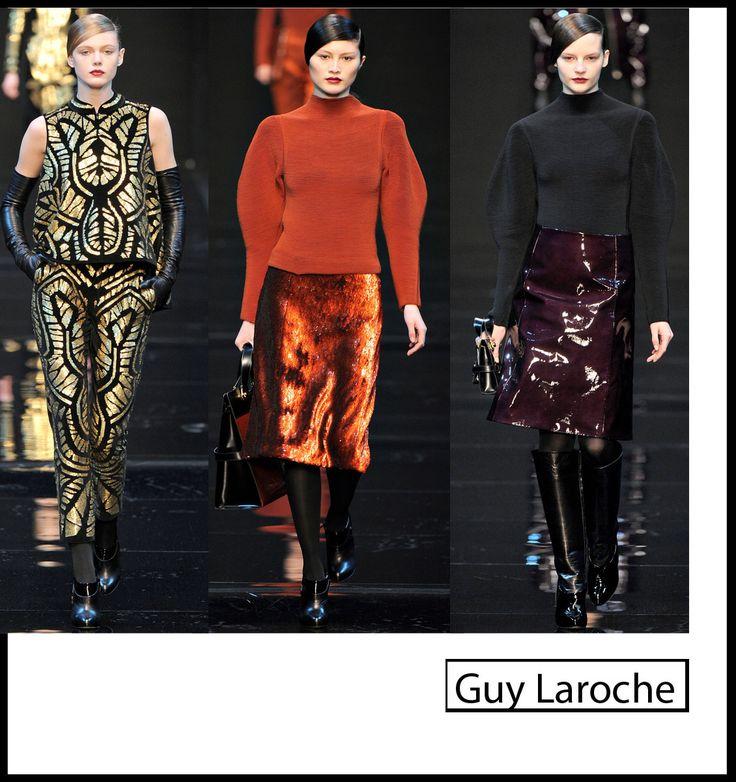 L'avantgarde glamour di Guy Laroche alla settimana della Moda di Parigi