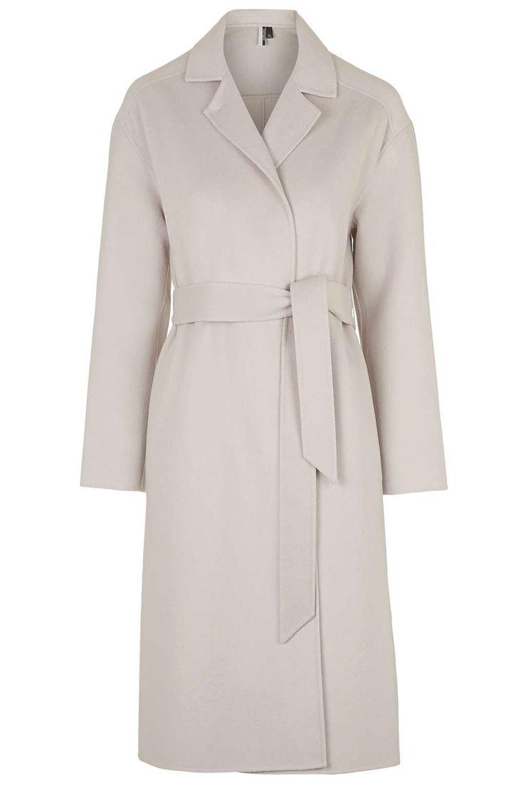 **Premium Belted Slouchy Coat