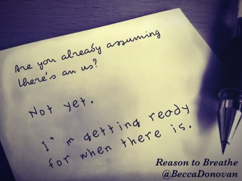 Rebecca Donovan - Reason to Breathe (Breathing series 1)