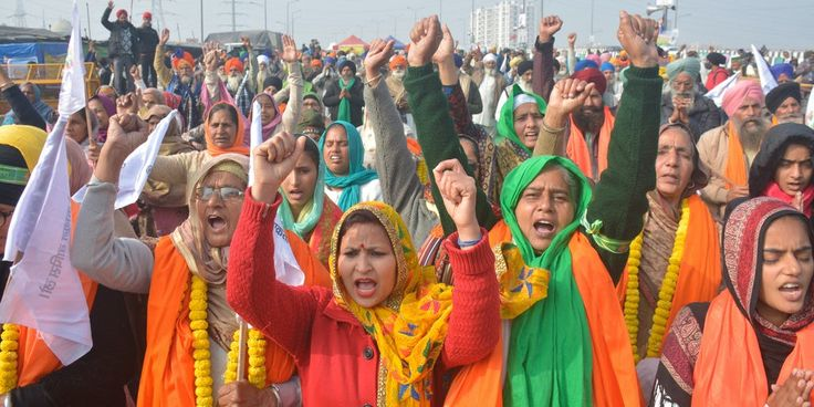 Op Ed Why Fashion Has A Stake In India S Farmer Protests In 2021 Fashion Retail Fashion Garment Workers