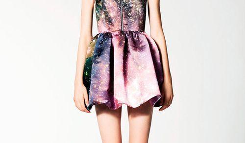 galaxy dress.