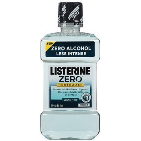 Listerine Zero Clean Mint Mouthwash, 8.5 fl oz