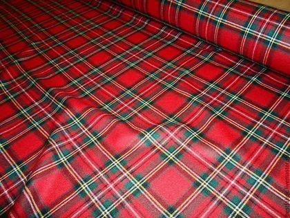 плательно-костюмная ткань сток MOSCHINO , Италия - клетка,клетчатая юбка