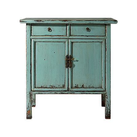 Teal Ming Cabinet