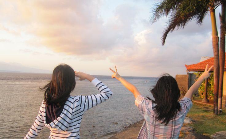 the edge of Java Island!