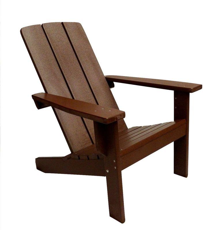 modern polywood adirondack chair